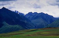 Amérique/Amérique du Sud/Pérou/Moray : Les Andes