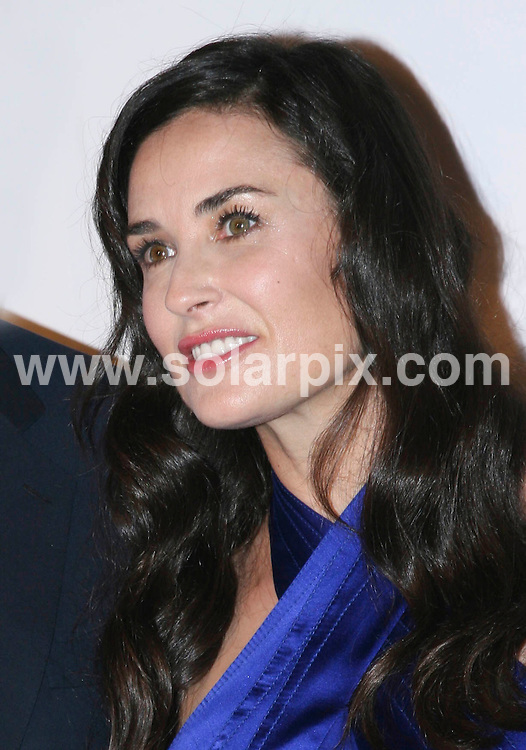 **ALL ROUND PICTURES FROM SOLARPIX.COM**.**SYNDICATION RIGHTS FOR UK, SPAIN, PORTUGAL, AUSTRALIA, S.AFRICA & DUBAI (U.A.E) ONLY**.Melania Trump, Donald Trump and Ivanka Trump  Nakheel Launches Trump International Hotel and Tower Dubai at the Park Avenue Plaza in New York in the USA. .This pic:Demi Moore..JOB REF:6713-PHZ /Wild1                 DATE:23_06_08 .**MUST CREDIT SOLARPIX.COM OR DOUBLE FEE WILL BE CHARGED* *UNDER NO CIRCUMSTANCES IS THIS IMAGE TO BE REPRODUCED FOR ANY ONLINE EDITION WITHOUT PRIOR PERMISSION*