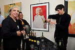 SANTA MONICA - JUN 25: Guests, Alex Brodeur at the David Bromley LA Women Art Exhibition opening reception at the Andrew Weiss Gallery on June 25, 2016 in Santa Monica, California