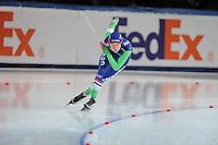 SPEED SKATING: STAVANGER: Sørmarka Arena, 29-01-2016, ISU World Cup, 1000m Ladies Division A, Marrit Leenstra (NED), ©photo Martin de Jong