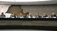 ATENCAO EDITOR: FOTO EMBARGADA PARA VEICULO INTERNACIONAL - SAO PAULO, SP, 10 DEZEMBRO 2012 - A INFLUENCIA DO BRASIL NO SISTEMA INTERNACIONAL SOFT-POWER -  Debate soft-power, a iniciativa, idealizada em conjunto com a Secretaria de Assuntos Estrategicos (SAE) da Presidencia da Republica, tem como objetivo a atuacao do Brasil no cenario internacional, com vistas a identificar a capacidade de o pais influenciar acoes politicas sem o uso da forca ou outra forma de coercao, porem lançando mao de estrategias de cooperacao - conceito conhecido como soft-power, na FIESP nessa terca, 11. (FOTO: LEVY RIBEIRO / BRAZIL PHOTO PRESS)