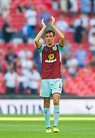 Burnley Jack Cork after the Premier League match between Tottenham Hotspur and Burnley at White Hart Lane, London, England on 27 August 2017. Photo by Andrew Aleksiejczuk / PRiME Media Images.