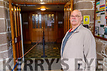 Jerry Griffin from Tralee attending attending Mass in St Johns Church on Monday morning as Churches reopen for mass.