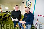 Ken Tobin & Tom O'Leary at HQ Tralee