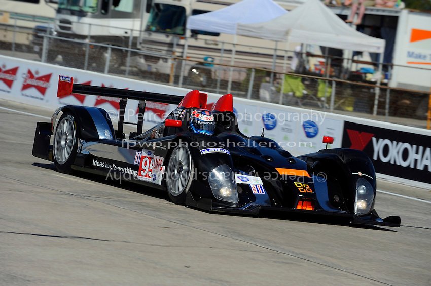 Ryan Hunter-Reay, #95 Level 5 Motorsports Oreca FLM09 (LMPC class)