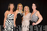 Ann Curtin, Niamh O'Dowd, Carol Butler and Sarah Barry at the CBS Primary School Fashion Show at the Ballyroe Heights Hotel on Thursday night