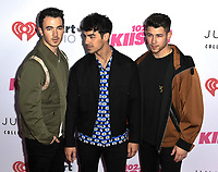 Jonas Brothers at iHeartRadio KIIS FM Wango Tango at the Dignity Health Sports Park.