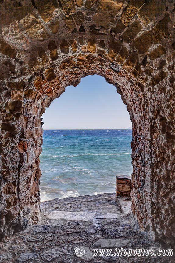 Portelo in the Byzantine castle-town of Monemvasia in Greece