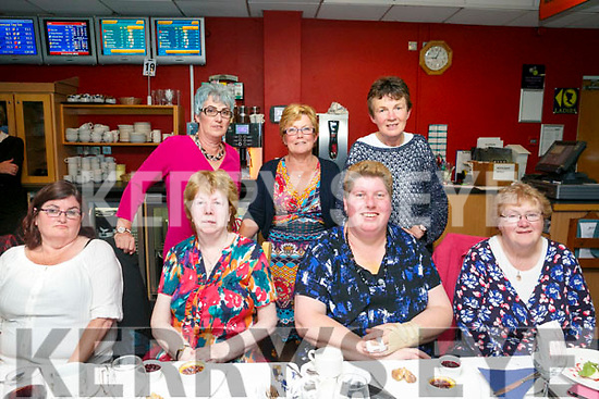 Shanow women's Group  enjoying a night at the Dogs in the Kingdom Greyhound Stadium on Friday. Pictured front l-r Mary Shanahan, Margaret Stack, Bernadette O Sullivan, Breda O'Connor Back l-r Alexandra Shanahan, Anna O Connor and Mary Stack