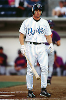 Scott Seal of the Rancho Cucamonga Quakes during a California League baseball game at The Epicenter circa 1999 in Rancho Cucamonga,CA. (Larry Goren/Four Seam Images)
