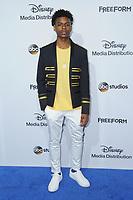 21 May 2017 - Burbank, California - Aubrey Joseph. ABC Studios and Freeform International Upfronts held at The Walt Disney Studios Lot in Burbank. Photo Credit: Birdie Thompson/AdMedia
