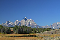 The Grand Tetons as seen from Hedric's Pond