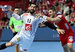 12.01.2018., Croatia, Zatika Sports Hall, Porec - European Handball Championship, Group B, 1st Round, France - Norway. Nikola Karabatic.  <br /> <br /> Foto &copy; nordphoto / Igor Kralj/PIXSELL