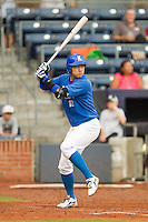 Youn-Joon Cho #12 of Team Korea at bat against Team USA at Durham Bulls Athletic Park July 18, 2010, in Durham, North Carolina.  Photo by Brian Westerholt / Four Seam Images