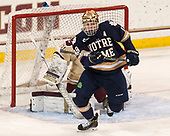 Jake Evans (Notre Dame - 18) - The Boston College Eagles defeated the University of Notre Dame Fighting Irish 6-4 (EN) on Saturday, January 28, 2017, at Kelley Rink in Conte Forum in Chestnut Hill, Massachusetts.The Boston College Eagles defeated the University of Notre Dame Fighting Irish 6-4 (EN) on Saturday, January 28, 2017, at Kelley Rink in Conte Forum in Chestnut Hill, Massachusetts.