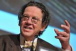 (KIKA) - TORINO - 18/05/2013 A Torino si tiene il 26° Salone del Libro con esposizioni, dibattiti e grandi ospiti, al salone del Lingotto. Philippe Daverio