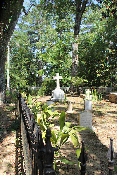 Photos from the boyhood home of Confederate President Jefferson Davis - Rosemont Plantation - Woodville, Mississippi