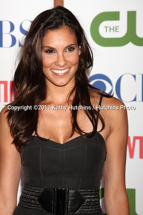 LOS ANGELES - AUG 3:  Daniela Ruah arriving at the CBS TCA Summer 2011 All Star Party at Robinson May Parking Garage on August 3, 2011 in Beverly Hills, CA