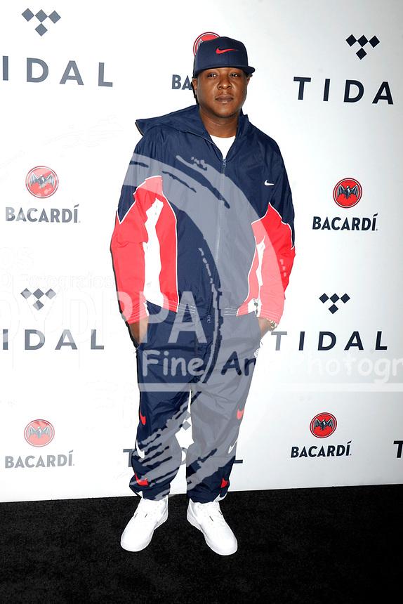 Jadakiss beim 3. TIDAL X Brooklyn Benefizkonzert im Barclay's Center. New York, 17.10.2017
