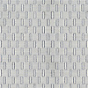 Wicker, a hand-cut tumbled mosaic, shown in Afyon White.