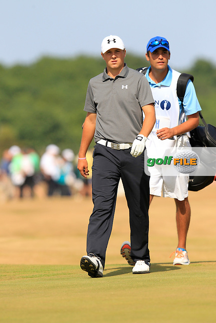 Jordan SPIETH (USA) during round 3 of  The 142th Open Championship Muirfield, Gullane, East Lothian, Scotland 20/7/2013<br /> Picture Eoin Clarke www.golffile.ie: