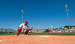 4 March 2013: St. Louis Cardinals catcher Tony Cruz warms up prior to a Spring Training game against the Minnesota Twins at Roger Dean Stadium in Jupiter, Florida. The Twins shut out the Cardinals 7-0 in Grapefruit League play. Mandatory Credit: Ed Wolfstein Photo *** RAW (NEF) Image File Available ***