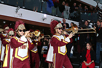LOS ANGELES - DEC 10:  USC Marching Band at the Carnival Panorama Press Day at Long Beach Carnival Cruise Terminal on December 10, 2019 in Long Beach, CA