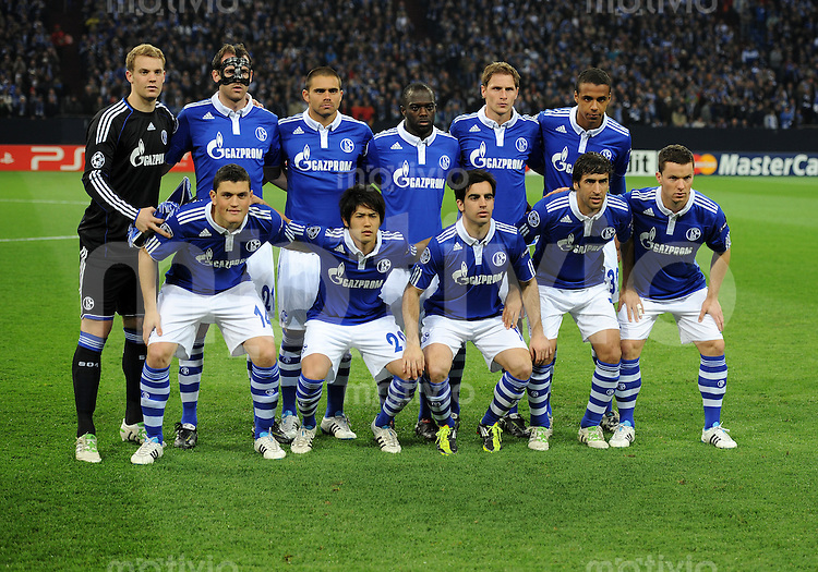 schalke champions league