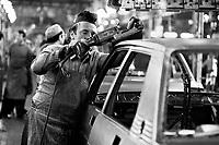- assembly lines in the car factory Alfa Romeo in Arese(Milan, Mars 1978)....- catene di montaggio nella fabbrica di automobili Alfa Romeo di Arese (Milano, marzo 1978)