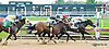 Atomic Orange Vet winning at Delaware Park on 8/8/13