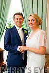 Noreen Lyons, Listowel, daughter of Danno and Mary Lyons and Joe Landers, London, son of Brian Landers and Therese Donmit, were married at the Sacred Heart Church, Lyreacrompane by Fr. Sean O'Sheehy on Saturday 19th September 2019 with a reception at Ballyseede Hotel