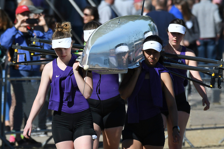 May 13, 2017; Gold River, CA, USA; I Four Portland Pilots during the WCC Rowing Championships at Lake Natoma.