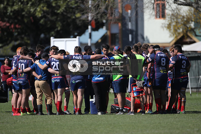 NELSON, NEW ZEALAND - SEPTEMBER 22: Mako U18 v Canterbury  Jubilee Park on September 22 2018 in  Nelson, New Zealand. (Photo by: Evan Barnes Shuttersport Limited)