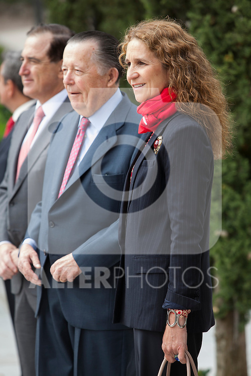 Enfant Elena de Borbon of Spain attends the Mapfre Foundation Social Awards ceremony at Mapfre Campus in Madrid, Spain. May 20, 2014. (ALTERPHOTOS/Victor Blanco)
