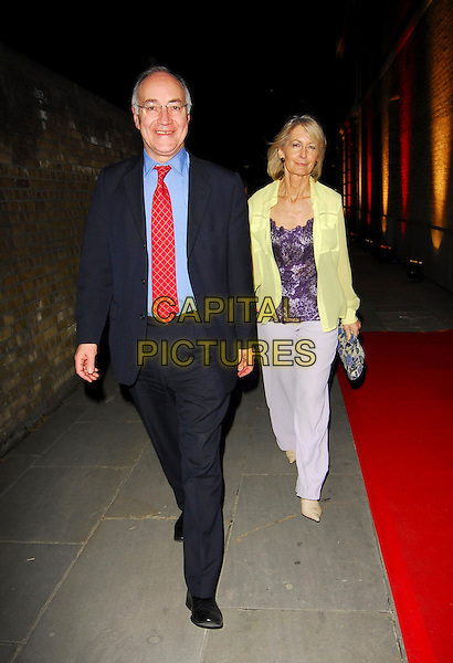 MICHAEL & SANDRA HOWARD.OK! Magazine - private 10th anniversary party, Old Billingsgate, London, UK..May 10th, 2006.Ref: CAN.full length blue suit.www.capitalpictures.com.sales@capitalpictures.com.©Capital Pictures