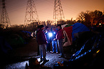 The SafeGround camp in Sacramento, Calif., January 15, 2011.