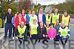 Some of the large crowd that particiapated in the Kerry Hospice Foundation walk in Kilcummin on Friday