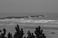 Ocean Waves of Grey