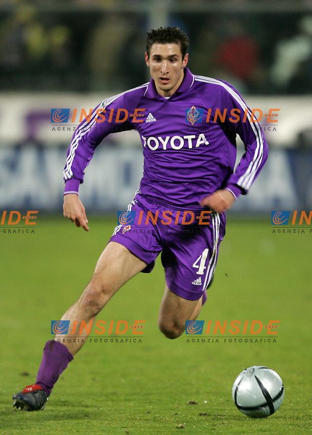 Firenze 23/1/2005 Campionato Italiano Serie A <br /> Fiorentina Roma 1-2 <br /> Giorgio Chiellini Fiorentina<br /> Foto Andrea Staccioli Insidefoto