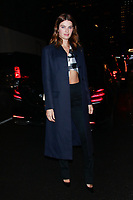 NEW YORK, NY - FEBRUARY 7: Isabeli Fontana  seen on February 7, 2019 in New York City. <br /> CAP/MPI/DC<br /> &copy;DC/MPI/Capital Pictures