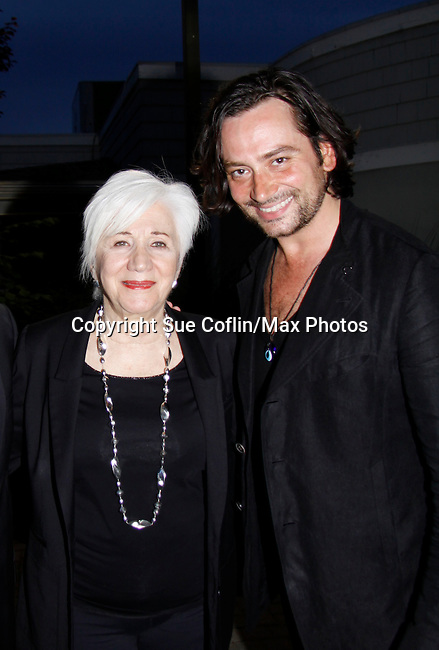 Olympia Dukakis (Search for Tomorrow) & Constantine Maroulis (Bold and the Beautiful) & American Idol at The Loukoumi Make a Difference Foundation  - A Celebration 10 years in the Making - Dance Party and Make a Difference Awards on June 17, 2015 at Lake Isle Country Club, Eastchester, New York. (Photos by Sue Coflin/Max Photos)