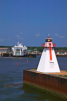 Harbor lighthouse, Prince Edward Island, Canada