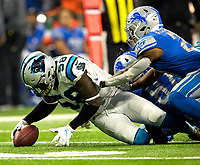 Photography of the Carolina Panthers v. The Detroit Lions, Sunday afternoon October 8, 2017 at Ford Field in Detroit, Michigan.<br /> <br /> Charlotte Photographer - PatrickSchneiderPhoto.com