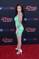 """LOS ANGELES - AUG 13:  Danielle Bregolli at the """"47 Meters Down: Uncaged"""" Los Angeles Premiere at the Village Theater on August 13, 2019 in Westwood, CA"""