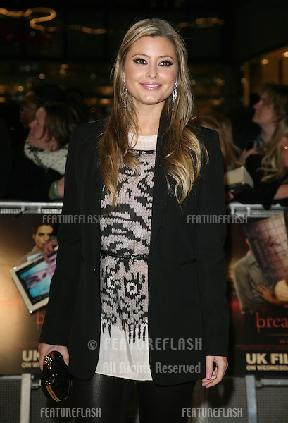 Holly Valance arriving for the UK premiere of The Twilight Saga: Breaking Dawn Part 1 at Westfield Stratford City, London. 17/11/2011 Picture by: Alexandra Glen / Featureflash