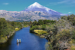 Andy Hermosilla and Cathy Beck  on the Rio Malleo in Patagonia