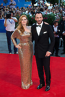 Amy Adams &amp; Tom Ford at the premiere of Nocturnal Animals at the 2016 Venice Film Festival.<br /> September 2, 2016 Venice, Italy<br /> Picture: Kristina Afanasyeva / Featureflash