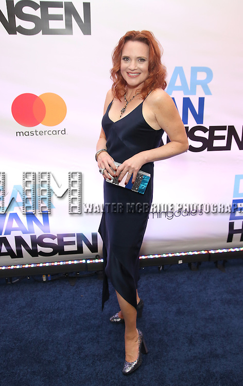 Jennifer Laura Thompson attends the Broadway Opening Night After Party for 'Dear Evan Hansen'  at The Pierre Hotel on December 3, 2016 in New York City.
