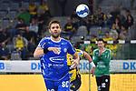 Gummersbachs Drago Vukovic beim Spiel in der Handball Bundesliga, Rhein Neckar Loewen - VfL Gummersbach.<br /> <br /> Foto &copy; PIX-Sportfotos *** Foto ist honorarpflichtig! *** Auf Anfrage in hoeherer Qualitaet/Aufloesung. Belegexemplar erbeten. Veroeffentlichung ausschliesslich fuer journalistisch-publizistische Zwecke. For editorial use only.