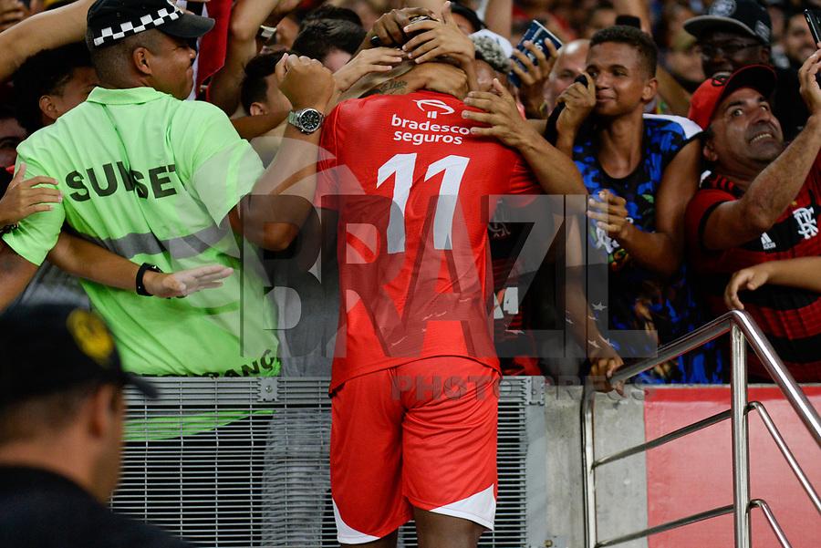 RIO DE JANEIRO, RJ, 27.12.2018 - FUTEBOL-ZICO - Vinicius Jr comemora o gol durante 15º Jogo das Estrelas no estádio do Maracanã no Rio de Janeiro, nesta quinta-feira, 27.(Foto: Clever Felix/Brazil Photo Press)